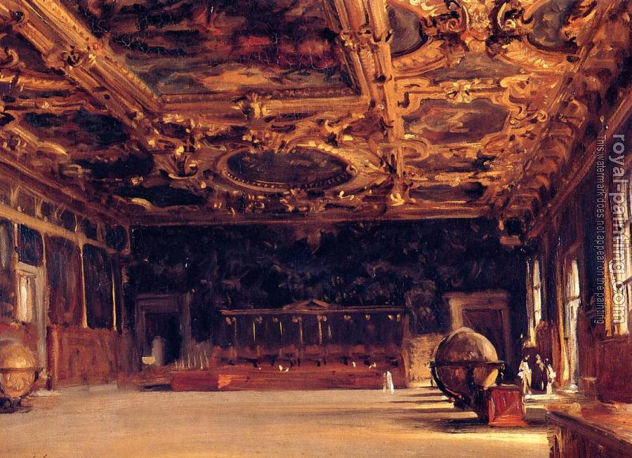 John Singer Sargent : Interior of the Doge's Palace
